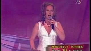 """Manoella Torres """"Libre Como Gaviota"""" Disco de Oro"""