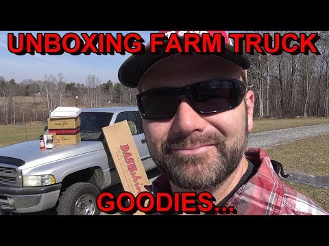 BUSTED DODGE RAM DASH FIX!! A BUNCH OF TRUCK GOODIES FOR THE FARM TRUCK!!...