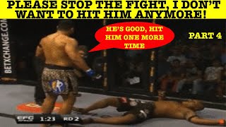 Top 10 Fighters Who Refused To Hit Their Opponent