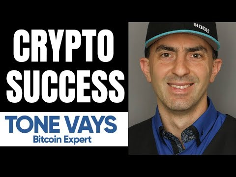How to Become Successful in Crypto. With Tone Vays.