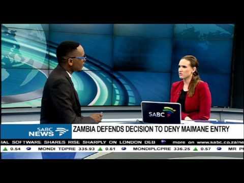 DISCUSSION: Maimane denied access into Zambia