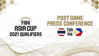 Thailand v Philippines - Press Conference - Asia Cup Qualifiers 2021