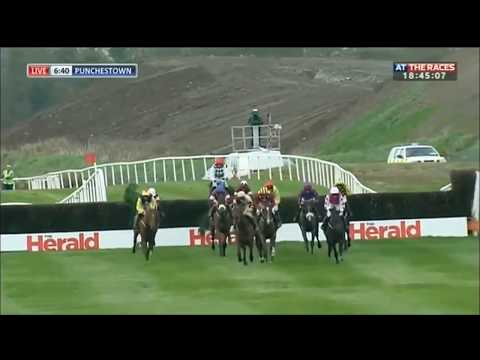 Incredible horse race at Punchestown - Paul Townend and Al Boum Photo