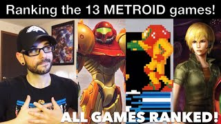 Ranking  ALL 13 of the METROID games! | Ro2R