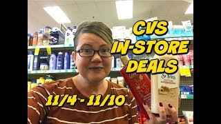 CVS IN-STORE DEALS 11/4 - 11/10 | GREAT MONEYMAKERS & DEALS!