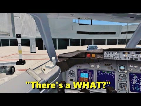 BOMB THREAT in Flight Simulator X? (Multiplayer Trolling)
