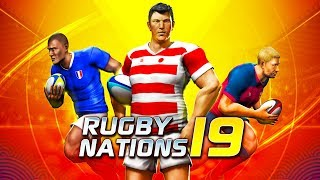 Rugby Nations 19 - Android Gameplay (By Distinctive Games)