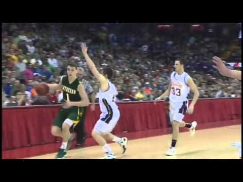 Replay Of Sam Dekker's Game Winning 3-pt Shot For Sheboygan Area Lutheran