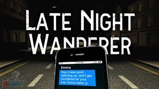 Late Night Wanderer | Indie Horror Game Walkthrough | Full Playthrough | PC Gameplay Let