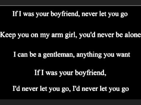 Boyfriend - Justin Bieber Lyrics (On Screen)