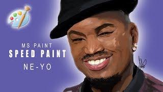 MS Paint   Ne-Yo Speed Painting