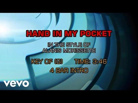 Alanis Morissette - Hand In My Pocket (Karaoke)