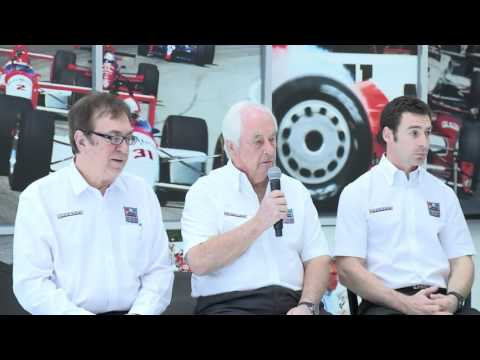 A Special Team Penske Announcement From The Indianapolis Motor Speedway