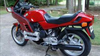 BMW K100RS Motorcycle Loud Luftmister Pipe 1986
