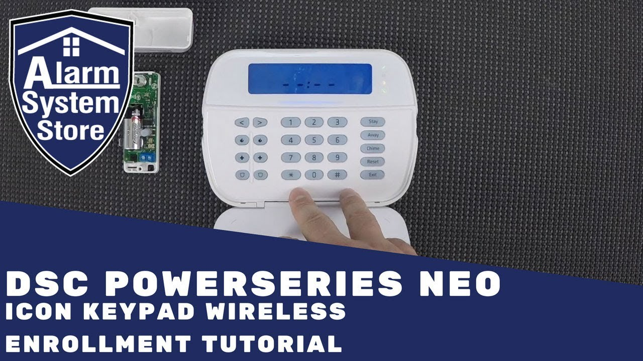 Dsc Neo Wireless Enrollment Data Wiring Diagrams Diagram Powerseries Icon Keypad 7 Inch Touch Screen Panel