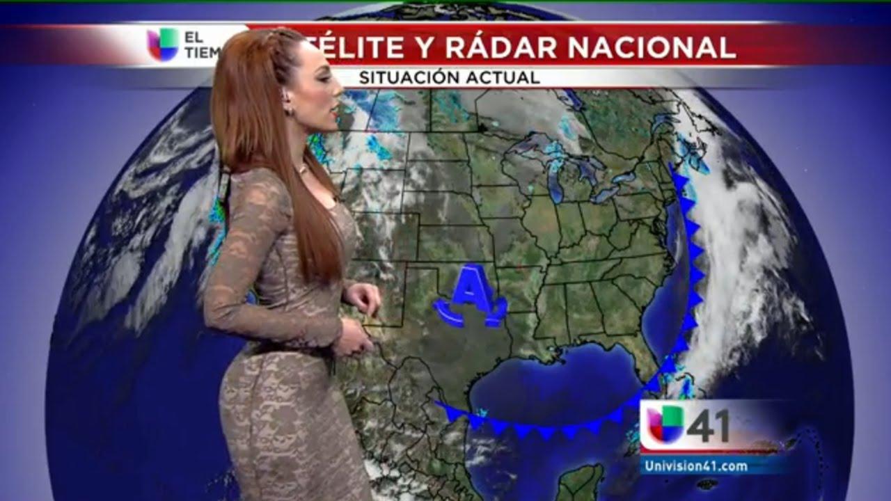 Prissila S 225 Nchez Clima 5 2 2015 Univision San Antonio