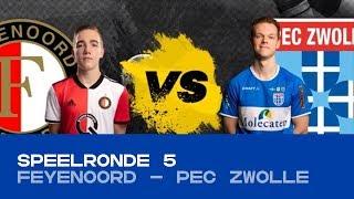EDIVISIE | Poule C - Feyenoord - PEC Zwolle