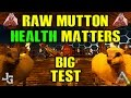 ARK - Raw Mutton - Ovis/Sheep HEALTH matters? TESTING gathering with different dinos - Guide