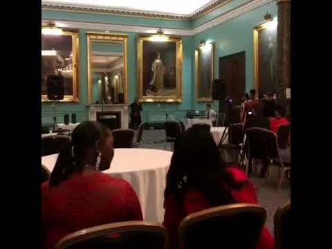 Ohmeomy performing at Mayfair London