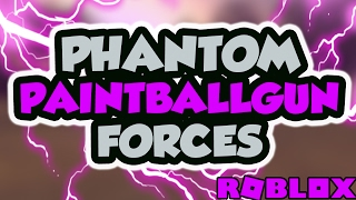 PAINTBALL IN PHANTOM FORCES..?!? | Roblox - France iBeMaine (en)