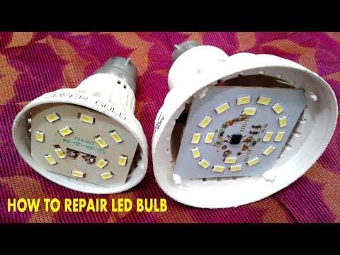LED BULB REPAIR EASILY