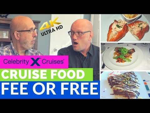 Celebrity Food - Fee or Free - What's included and what's NOT