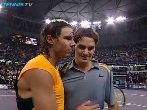 Shanghai 2006: Roger Federer vs Rafa Nadal epic points
