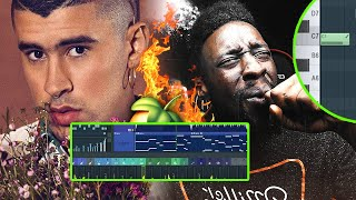 Making FIRE Reggaeton Beats for Nicky Jam & Bad Bunny! (From Scratch) | FL Studio Reggaeton Tutorial