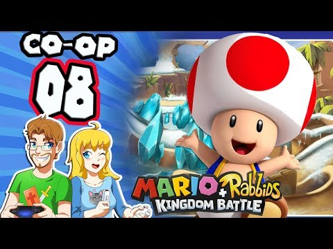 Mario Rabbids CO OP Part 8 Keep Toad SAFE! (Nintendo Switch)