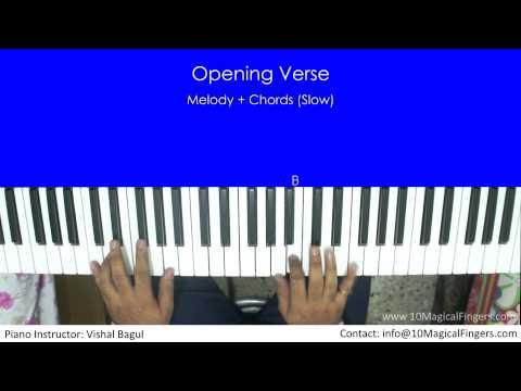 Zehnaseeb (Hasee Toh Phasee) Piano Tutorial  By Vishal Bagul