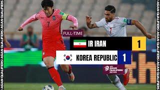 #AsianQualifiers - Full Match - Group A : IR Iran vs Korea Republic