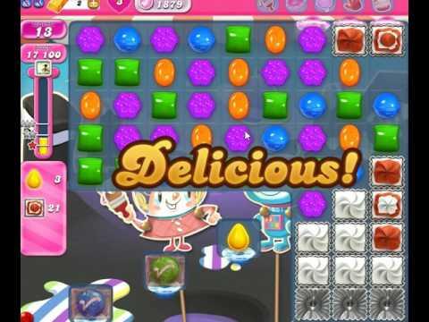 Candy crush level 1879 youtube - 1600 candy crush ...