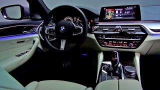 2017 BMW 5 Series INTERIOR - 540i M Sport Sedan