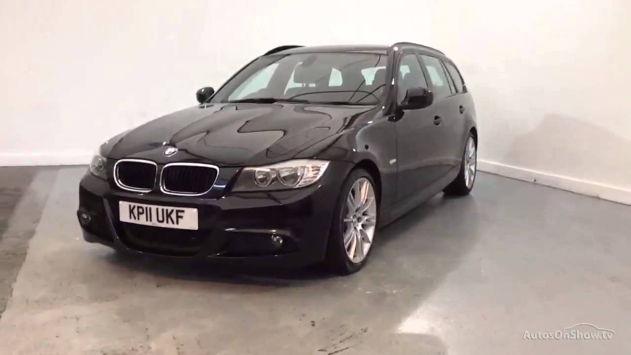 bmw 3 series 318i m sport touring black 2011 youtube. Black Bedroom Furniture Sets. Home Design Ideas
