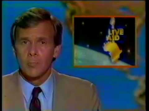 Live Aid miscellaneous news reports 1985