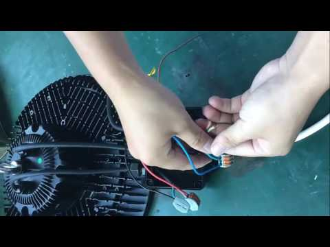 motion sensor light hook up