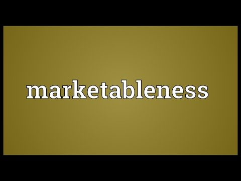 Header of marketableness