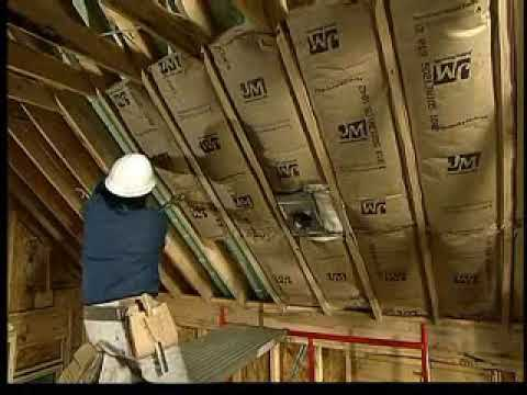 Insulating Cathedral Ceilings