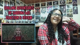 Chilling Adventures of Sabrina 1x01 REACTION & REVIEW