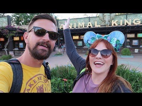 We Had A Wild Time At Disney's Animal Kingdom Moonlight Magic Party | Rare Characters, Rides & Food