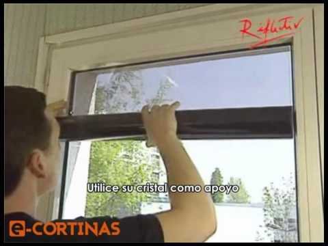Laminas anticalor como instalar laminas anticalor - Laminas decorativas para pared ...