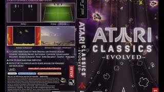 Atari Classics Evolved - Gameplay (OS X, mac)(openemu(PSP)) (ENG)