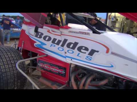 Trail-Way Speedway 358 Sprint Car Highlights 08-05-16