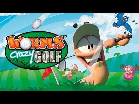 Worms Crazy Golf! -  12 Days of Christmas Day 8 |