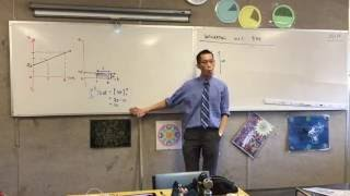 Integrating Velocity with respect to Time (1 of 2: Introducing a key example)