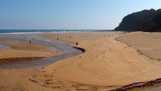 Paisajes de Asturias: Playa de la Griega, concejo de Colunga