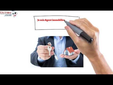 Clic 001 - Courtier immobilier - Servicve - Agent immobilier