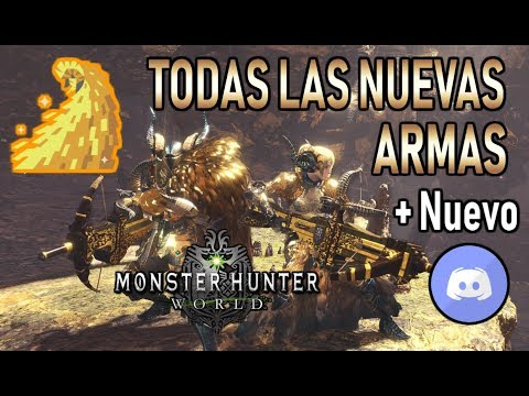 NUEVAS ARMAS KULVE TAROTH Archi - curtido + NUEVO DISCORD - Monster Hunter World (Español) thumbnail