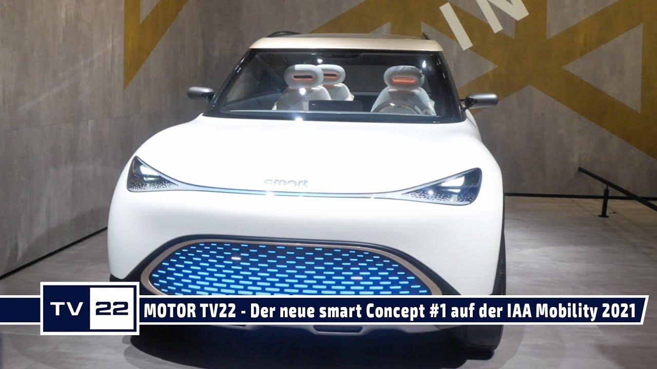 Smart wird zum SUV - Der neue Smart Concept #1 auf der IAA Mobility in München - MOTOR TV22