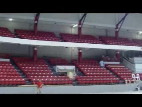 Inside Matthews Arena